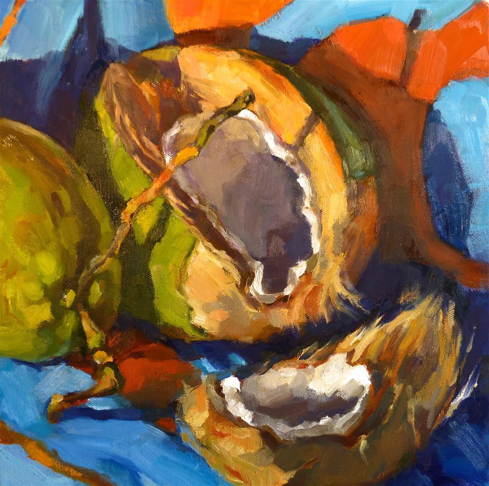 """Orchard Harvest #7"" original fine art by Katya Minkina"