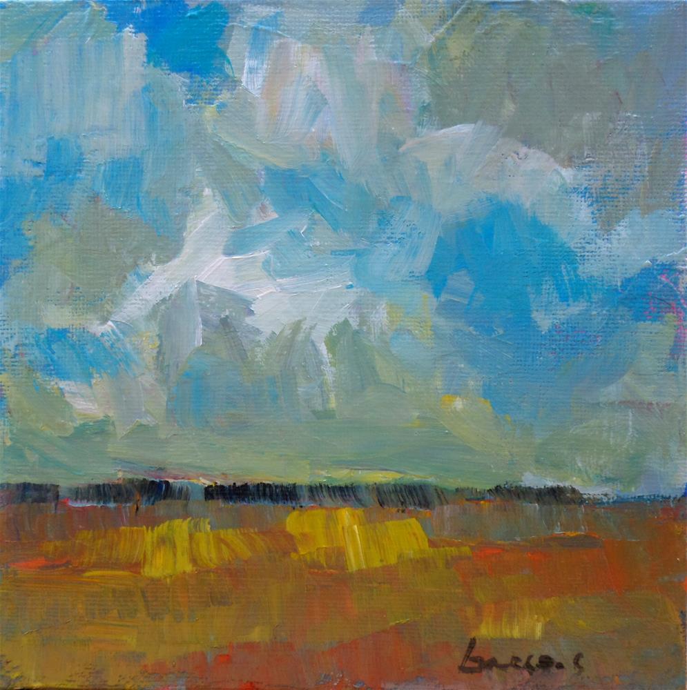 """Bigb sky 2"" original fine art by salvatore greco"