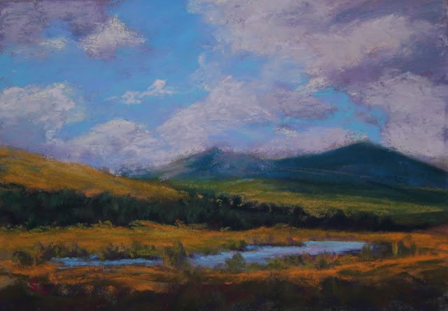 """Breezy"" original fine art by Sharon Lewis"