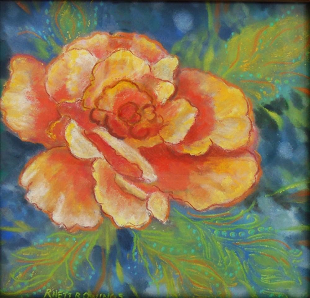 """Just Joey Rose"" original fine art by Rhett Regina Owings"