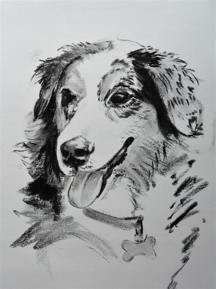 """Zoe"" original fine art by Cindy McDonough"