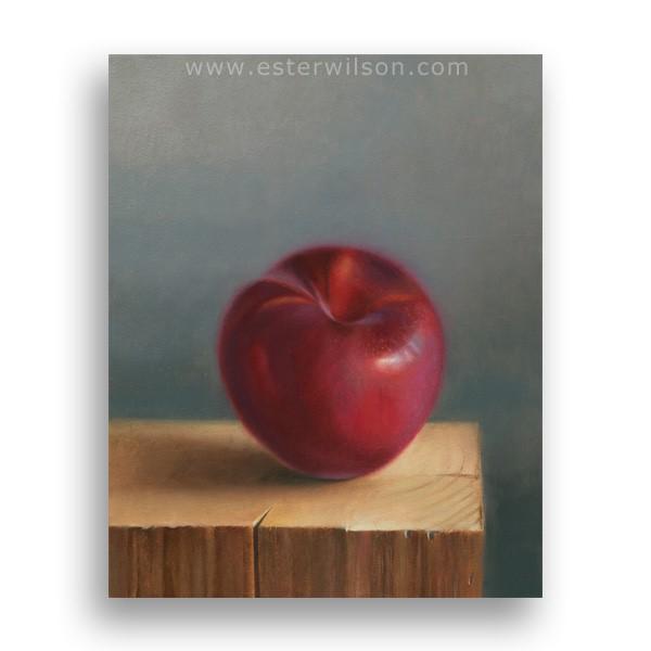 """Woodworker's Lunch - Framed"" original fine art by Ester Wilson"