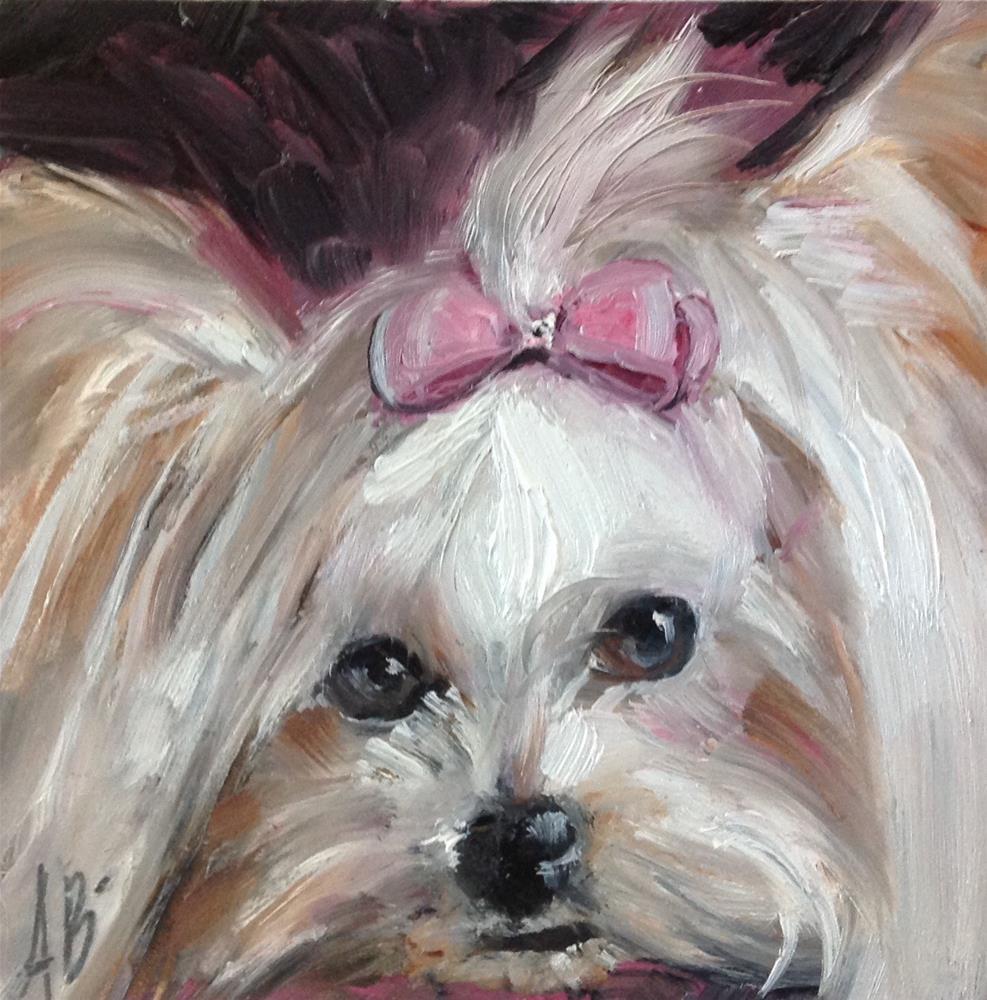 """""""Sweetheart"""" original fine art by Annette Balesteri"""