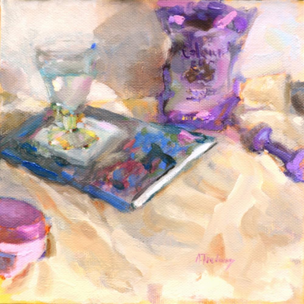 """Calcium Chews"" original fine art by alicia tredway"