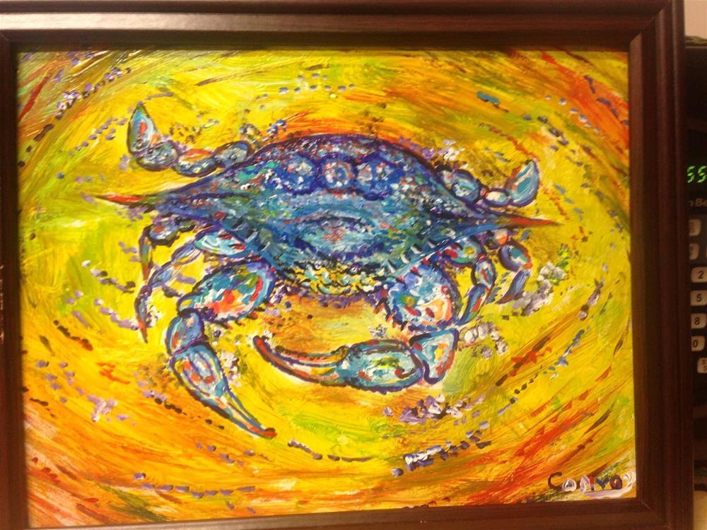 """Mr Crabbs"" original fine art by mark convoy"