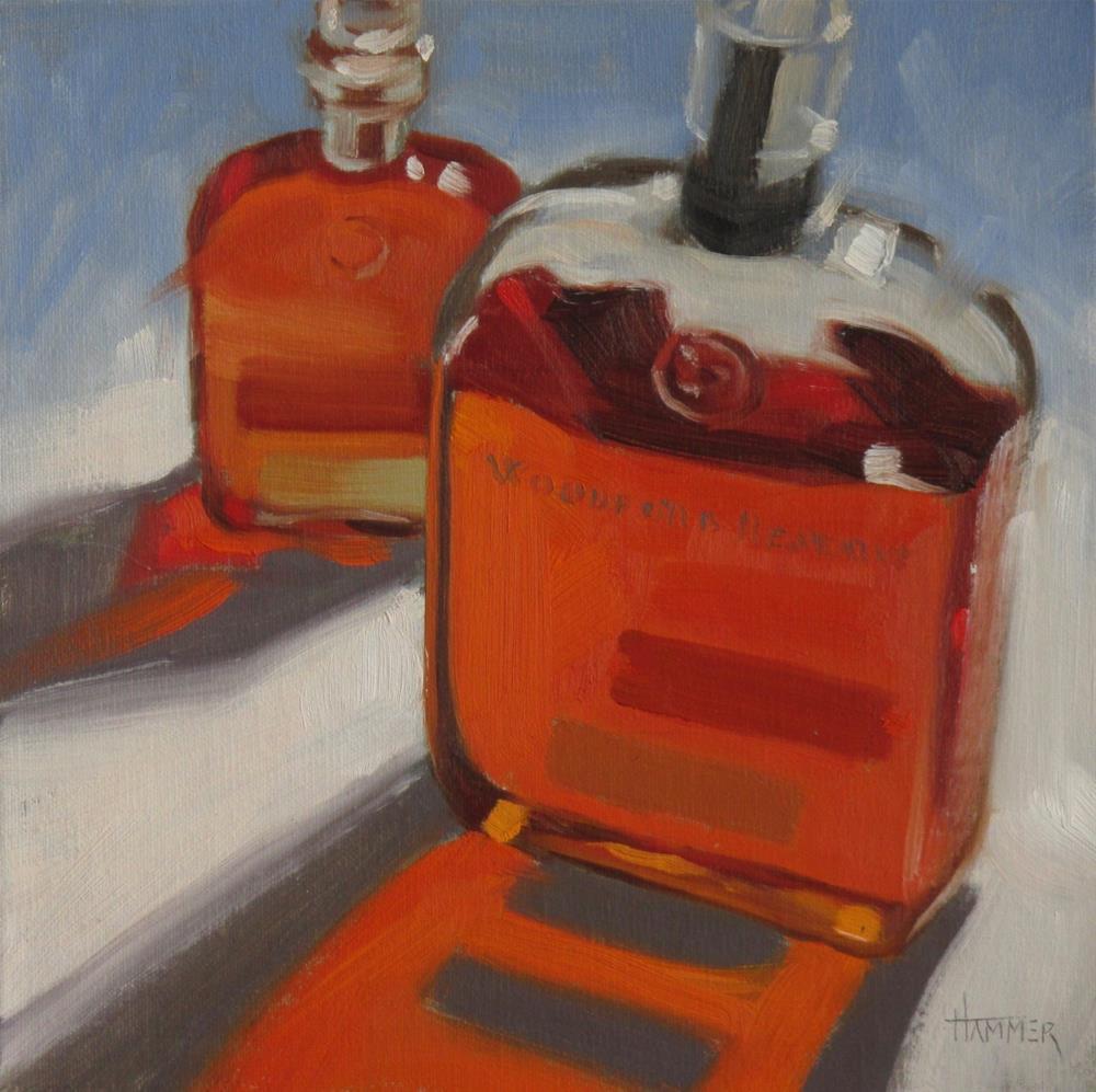 """Woodford & Woodford Jr."" original fine art by Claudia Hammer"