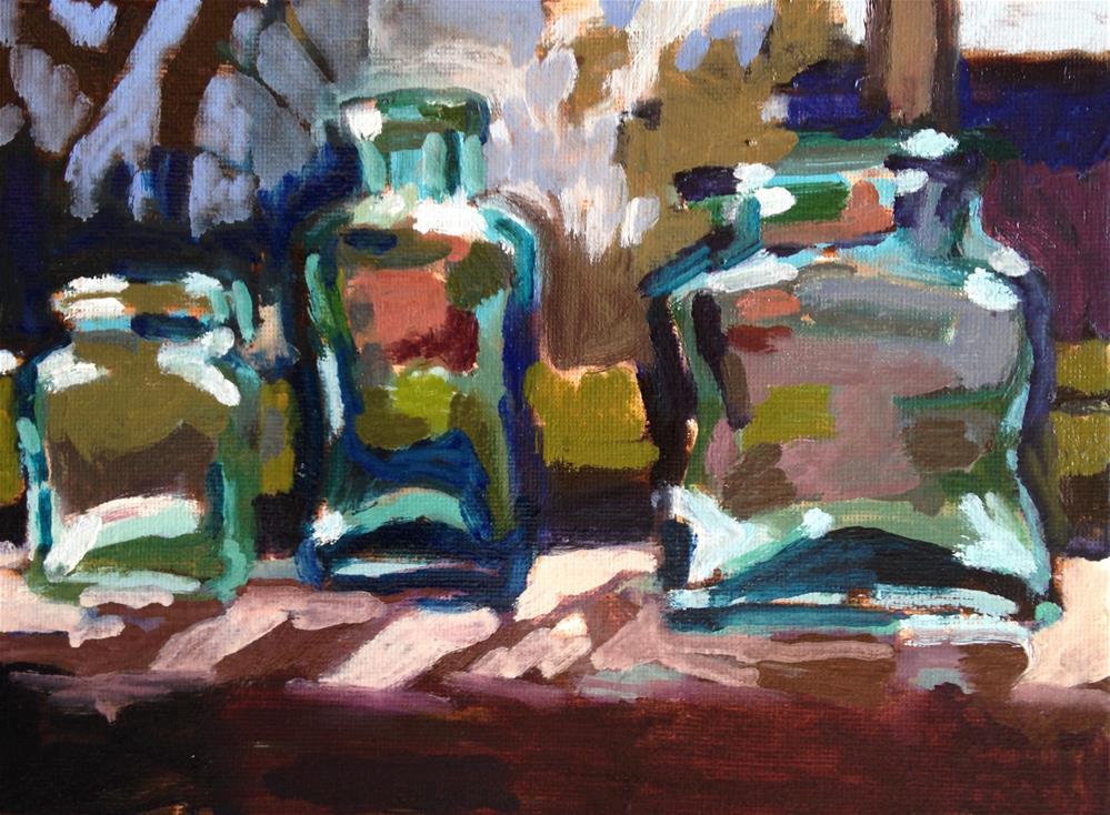 """""""Bathing Beauties II"""" original fine art by Pamela Hoffmeister"""