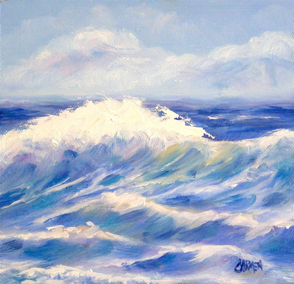 """Spring Wave"" original fine art by Carmen Beecher"