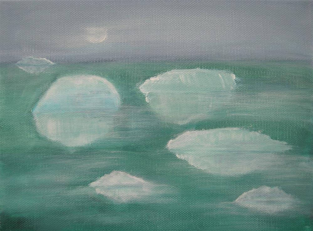 """When Glaciers Melt"" original fine art by Alina Frent"