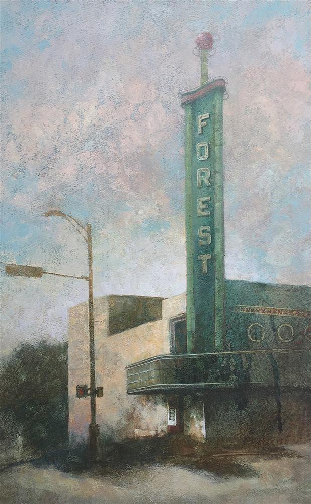 """The Dallas Forest"" original fine art by Robyn Jorde"