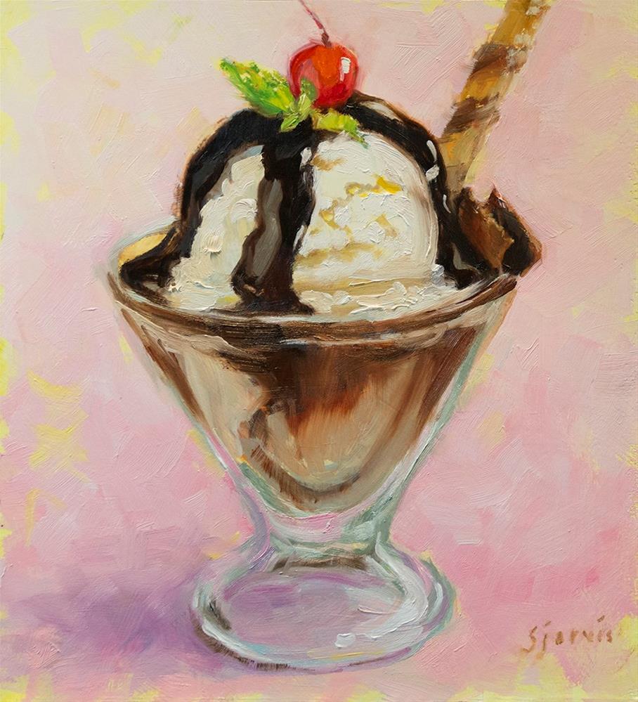 """""""Decadence"""" original fine art by Susan N Jarvis"""