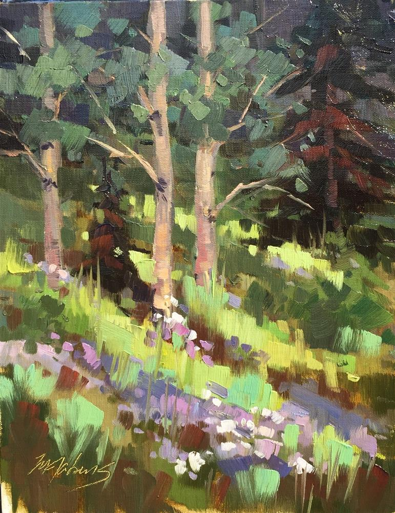 """""""Cache of Flowers"""" original fine art by Mary Jabens"""