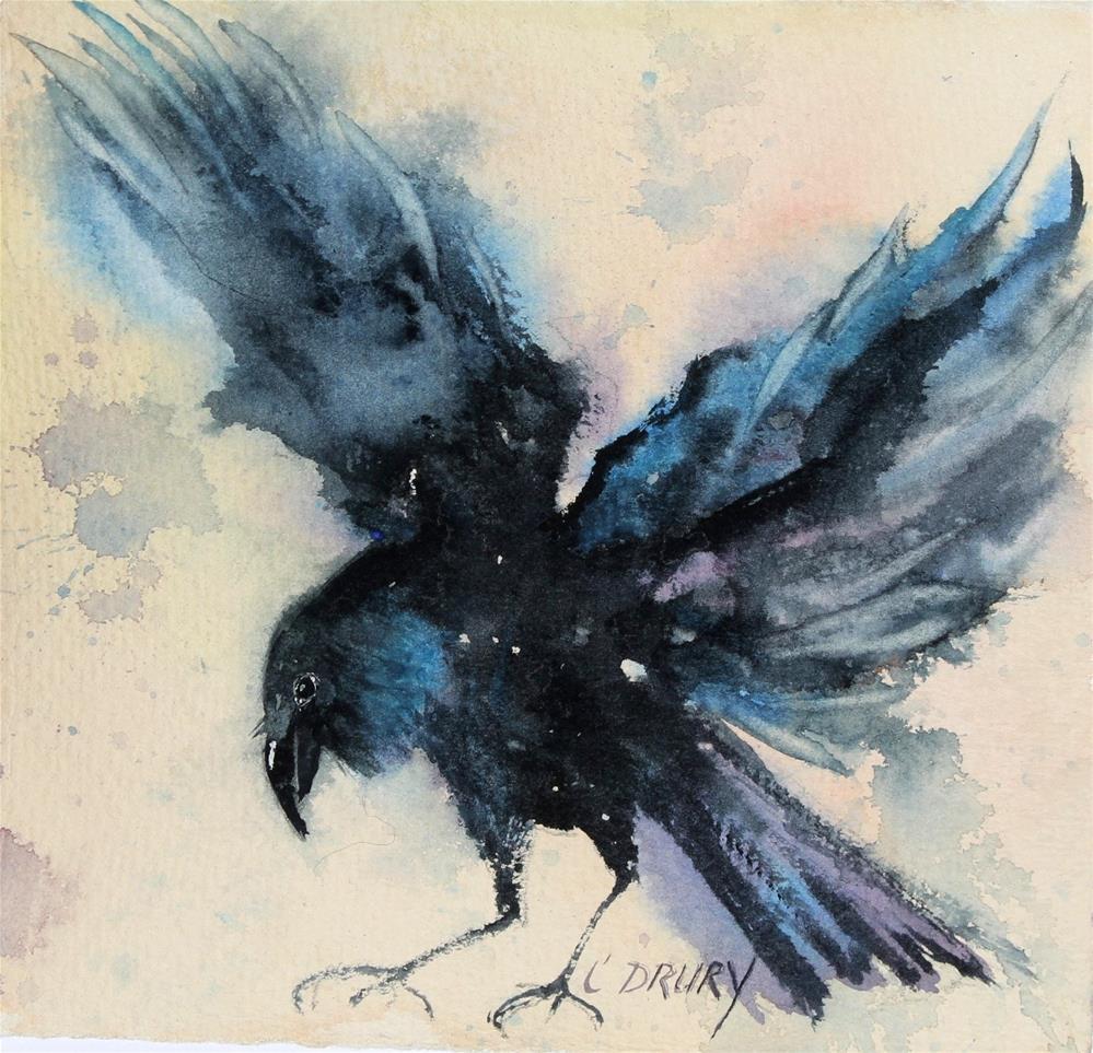 """Free Fall"" original fine art by Colleen Drury"