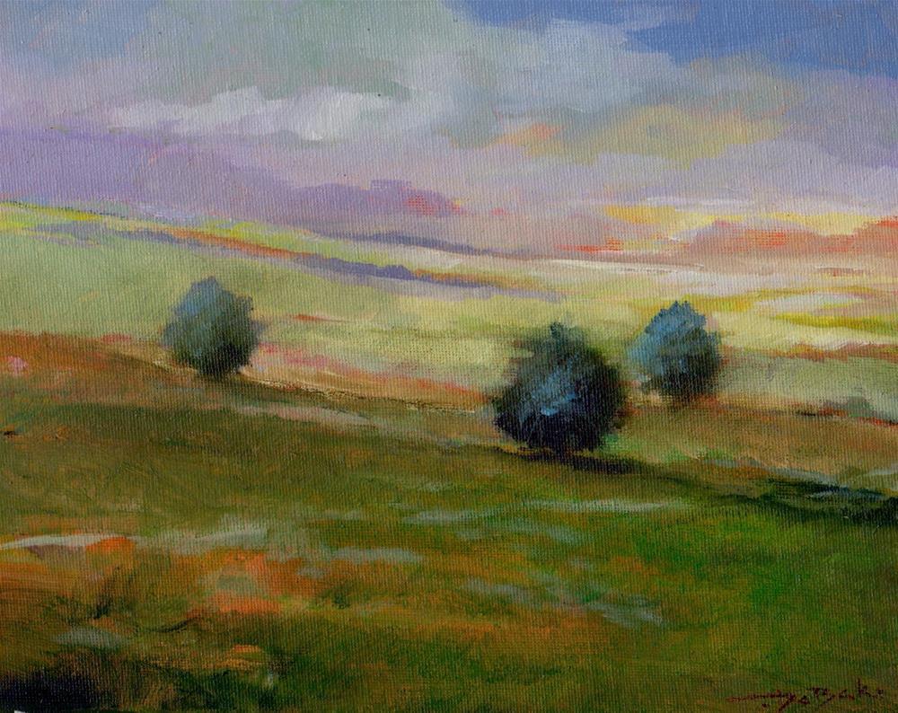 """spring 2016"" original fine art by Mark DeBak"