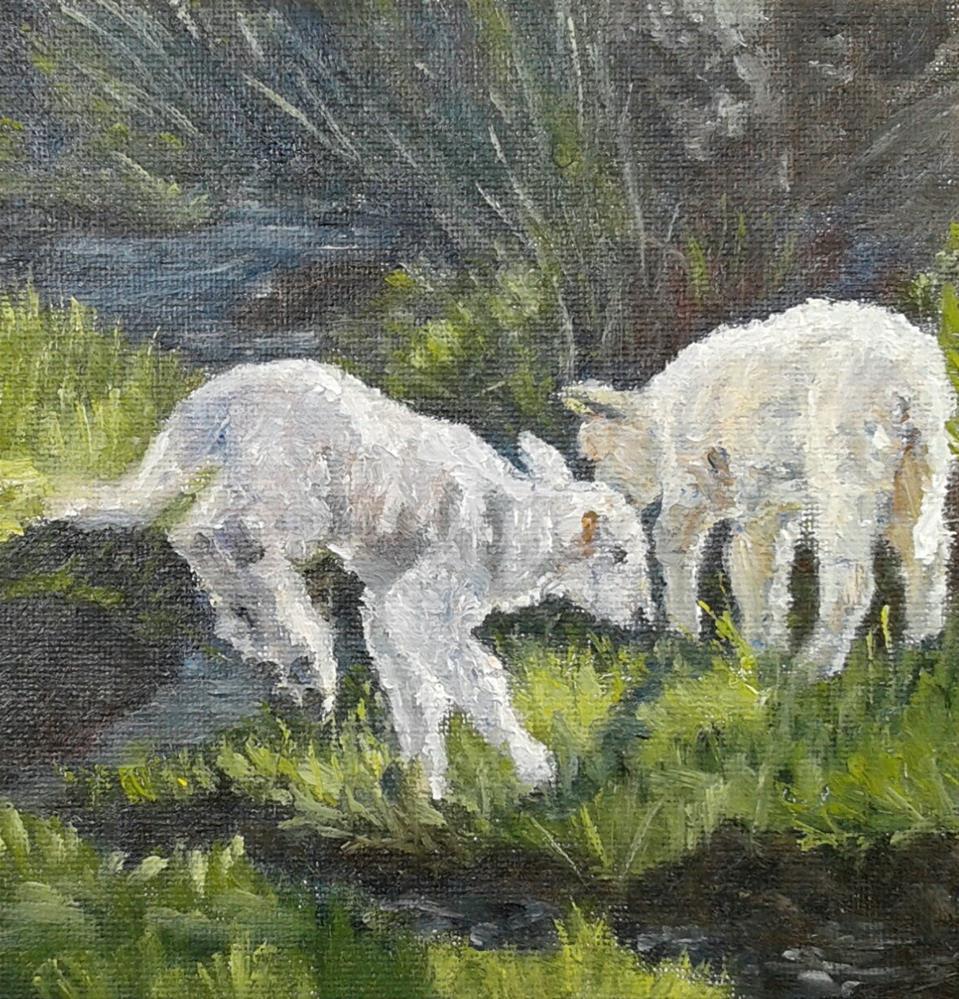 """At Play"" original fine art by Candi Hogan"