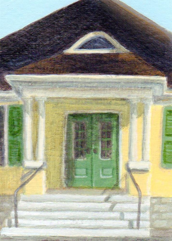 """Meeting Place"" original fine art by Debbie Shirley"