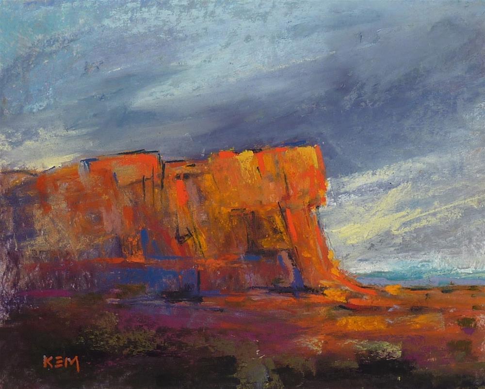 """Putting  Drama in Your Landscapes"" original fine art by Karen Margulis"