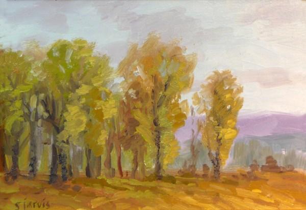 """Autumn Afternonon"" original fine art by Susan N Jarvis"