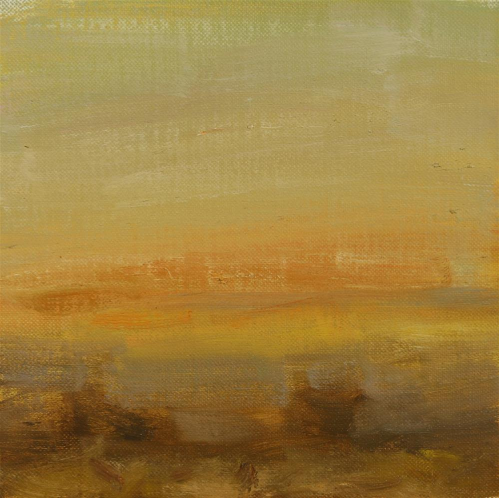 """Fall Sunrise 13"" original fine art by Scott Serafica"