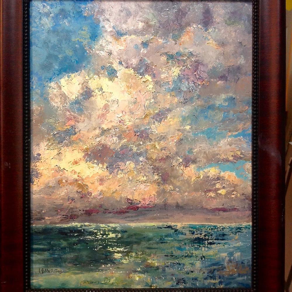 """All Puffed Up"" original fine art by Judy Usavage"