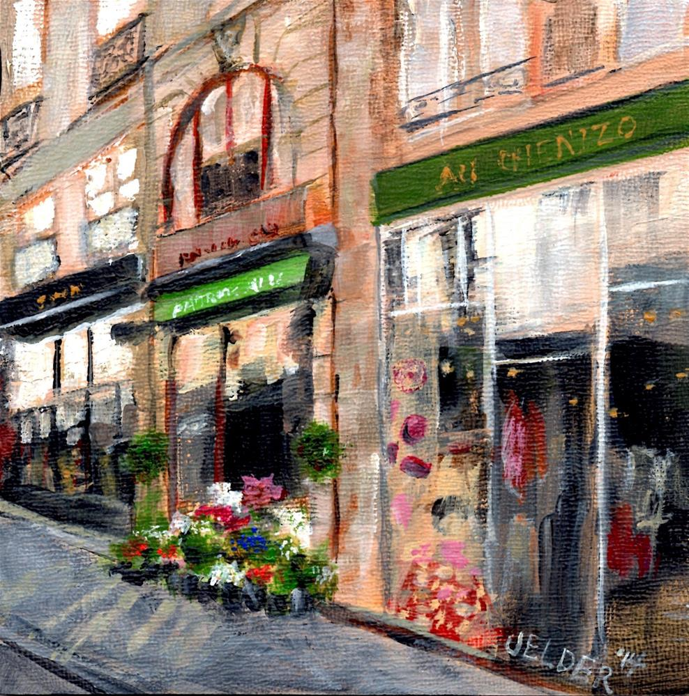 """Paris No. 18"" original fine art by Judith Elder"