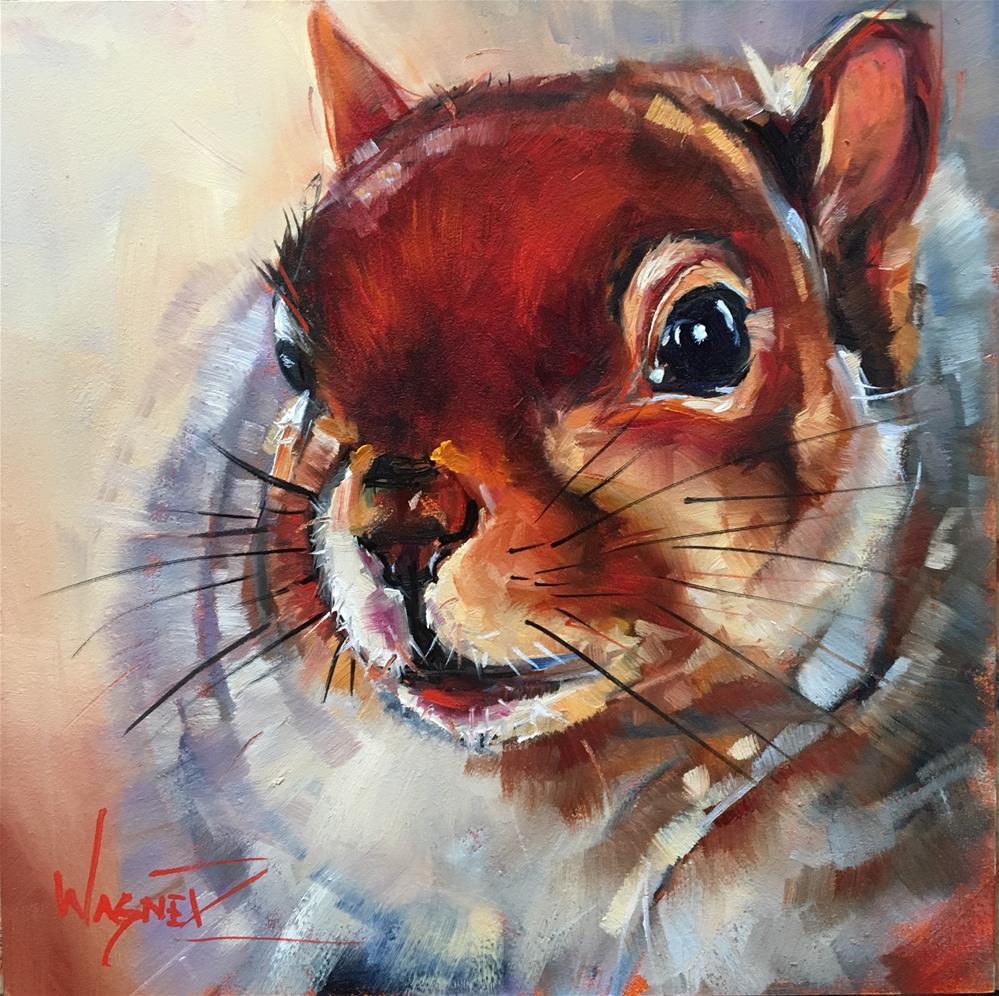 """Fred"" original fine art by Olga Wagner"