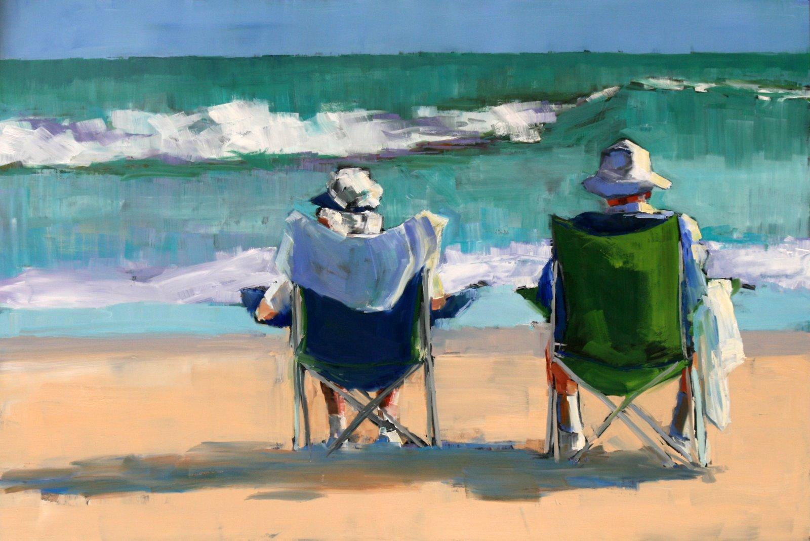 """prime time"" original fine art by Carol Carmichael"