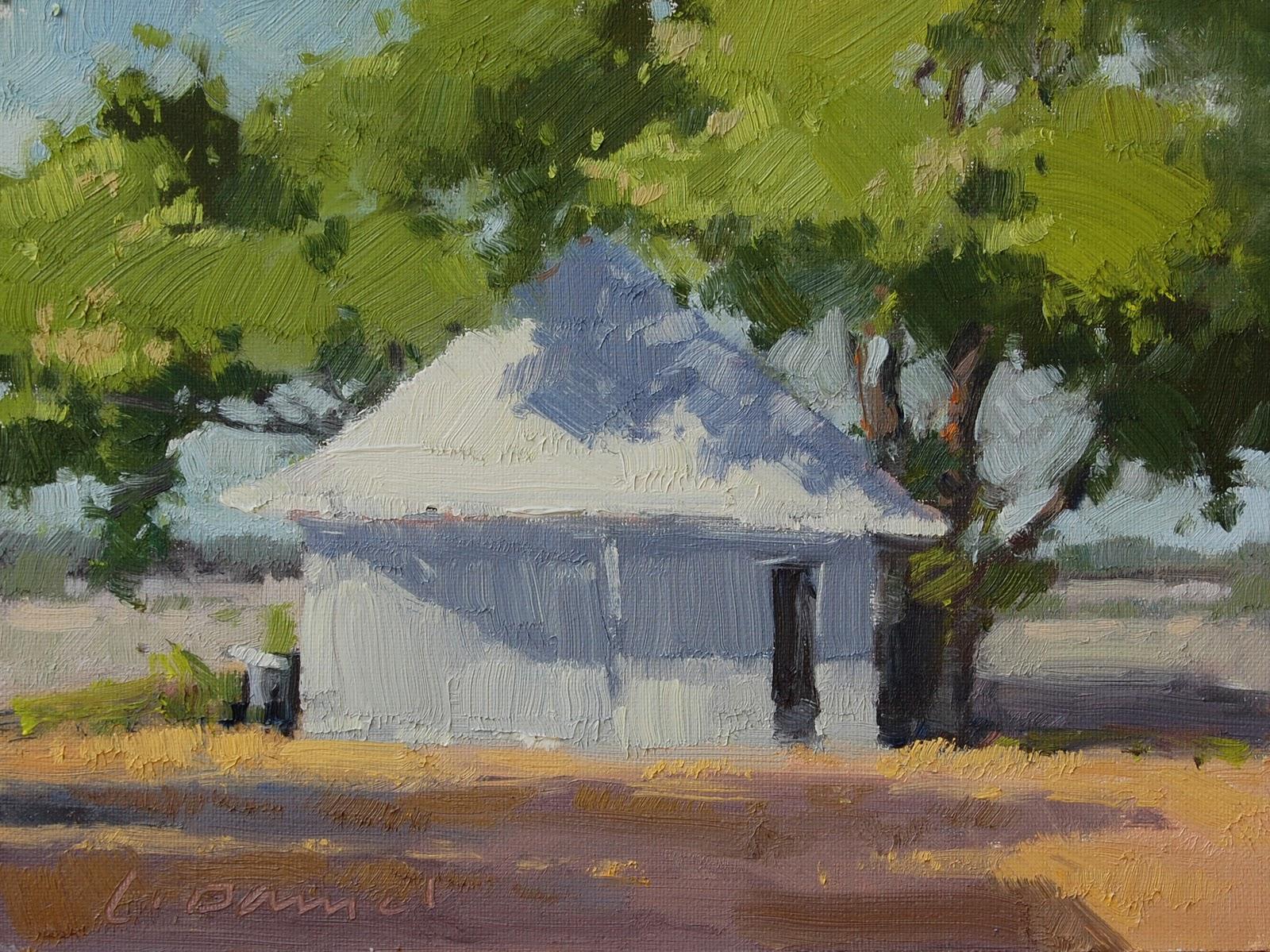 """Shadow Shimmer"" original fine art by Laurel Daniel"