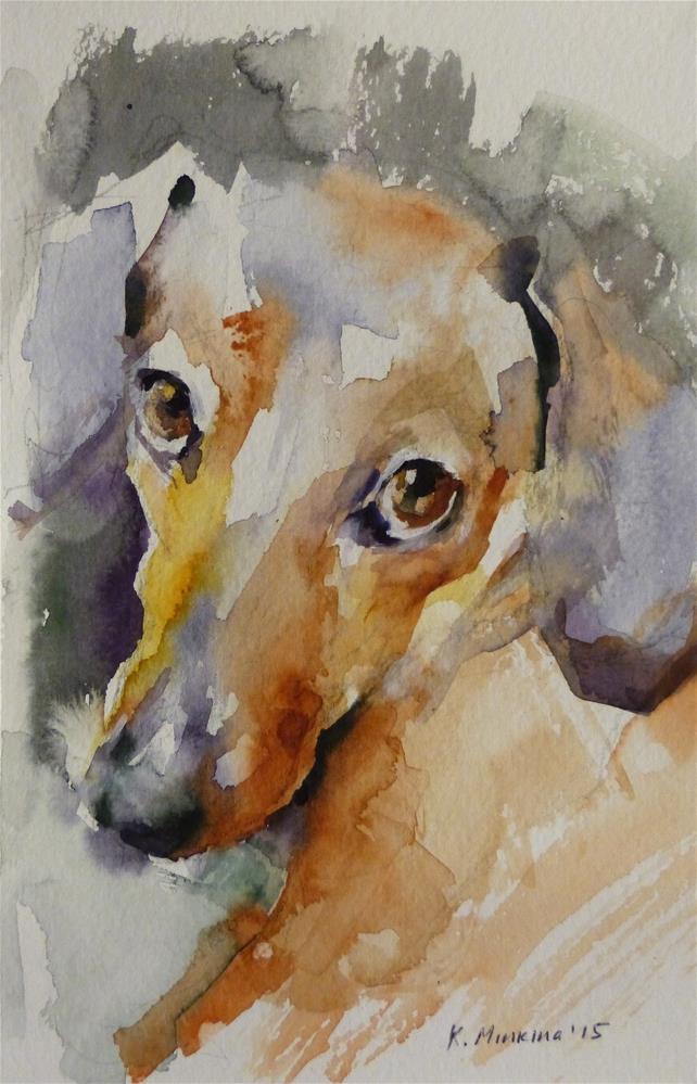"""adopt110"" original fine art by Katya Minkina"
