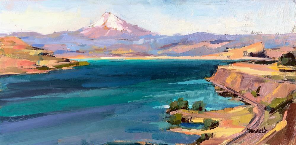 """View From Above Avery WA"" original fine art by Cathleen Rehfeld"