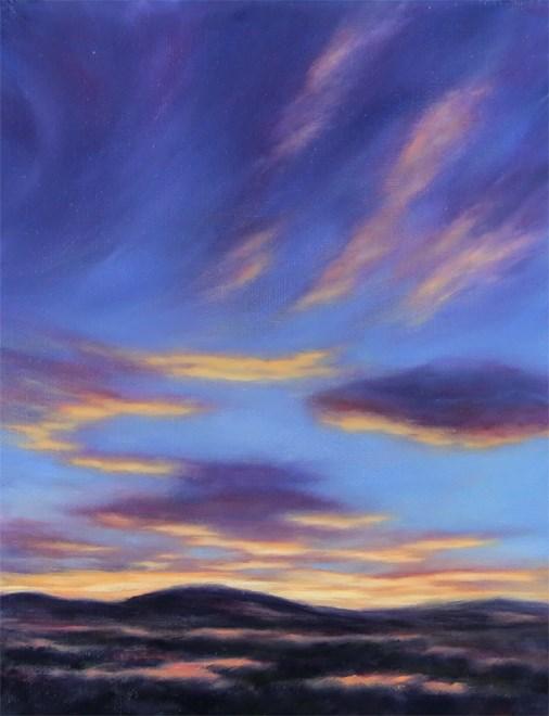 """Under Bright Lights"" original fine art by Carol Zirkle"