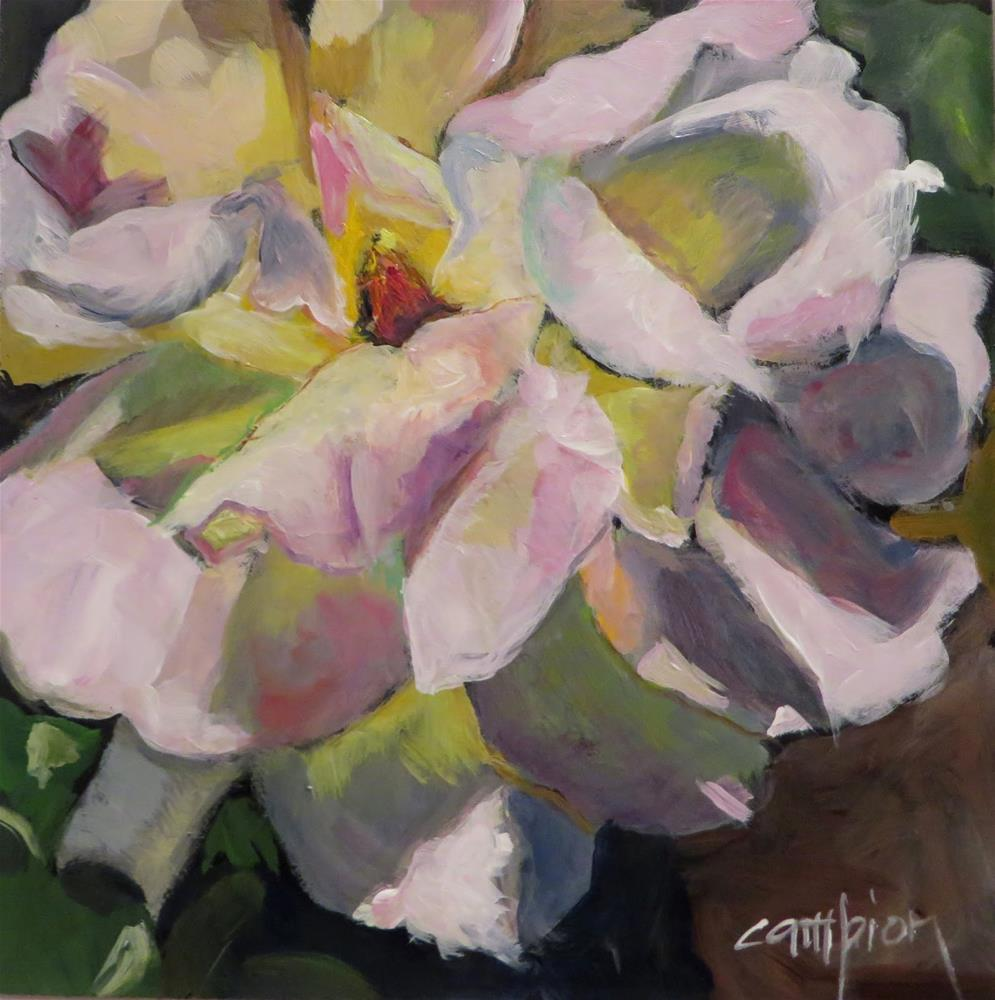 """670 Carol's Challenge"" original fine art by Diane Campion"