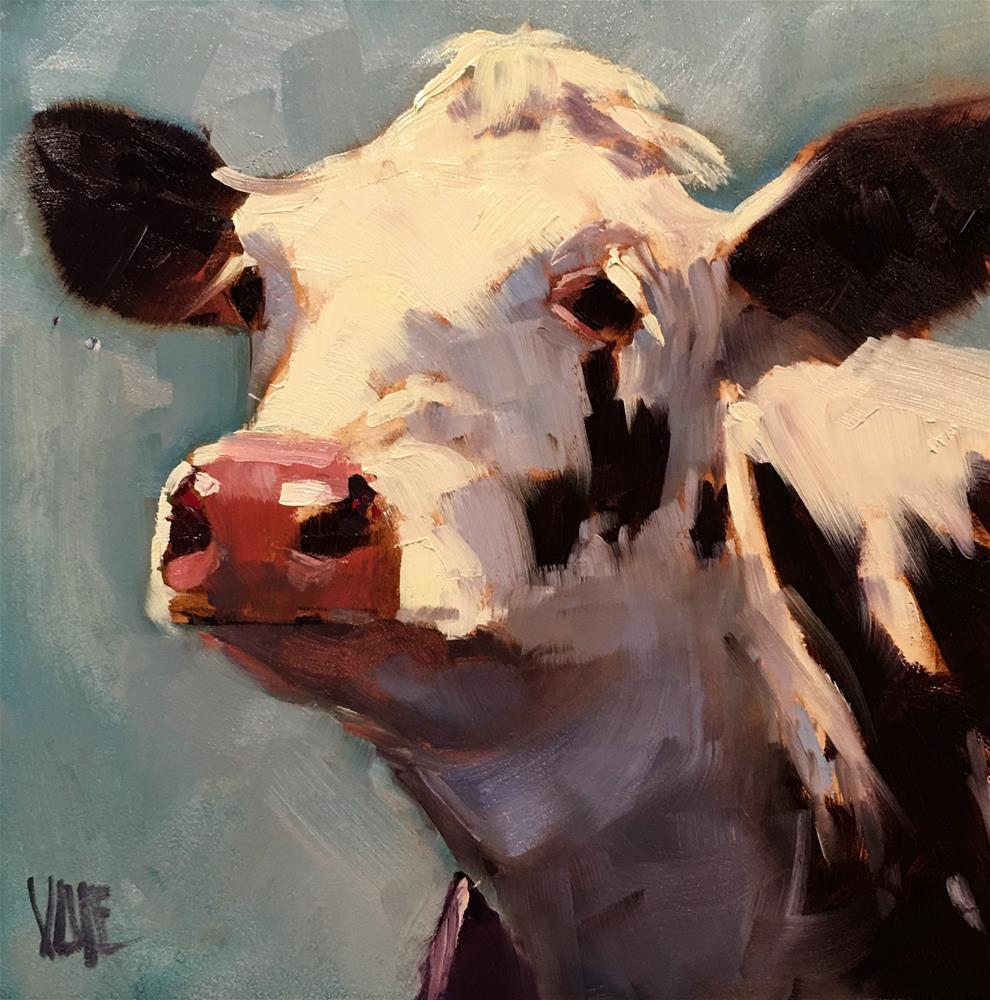 """#385 Dear Henrietta"" original fine art by Patty Voje"