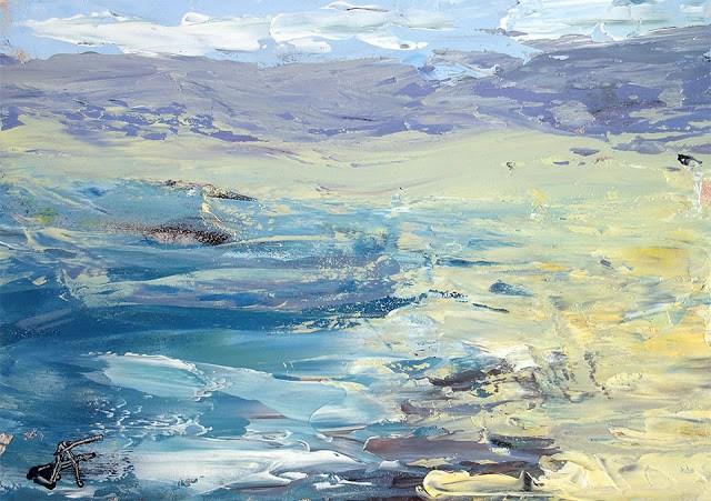 """Sonoma Coast"" original fine art by J. Farnsworth"