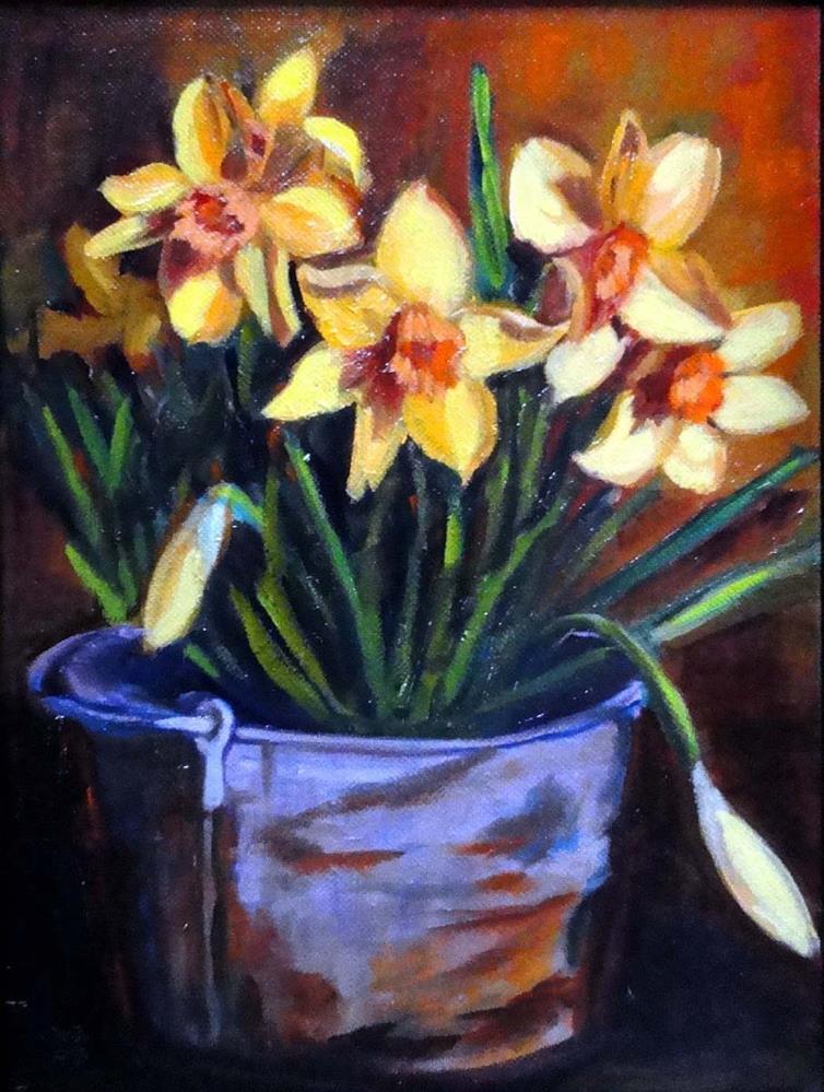 """Pot O' Gold"" original fine art by Cietha Wilson"
