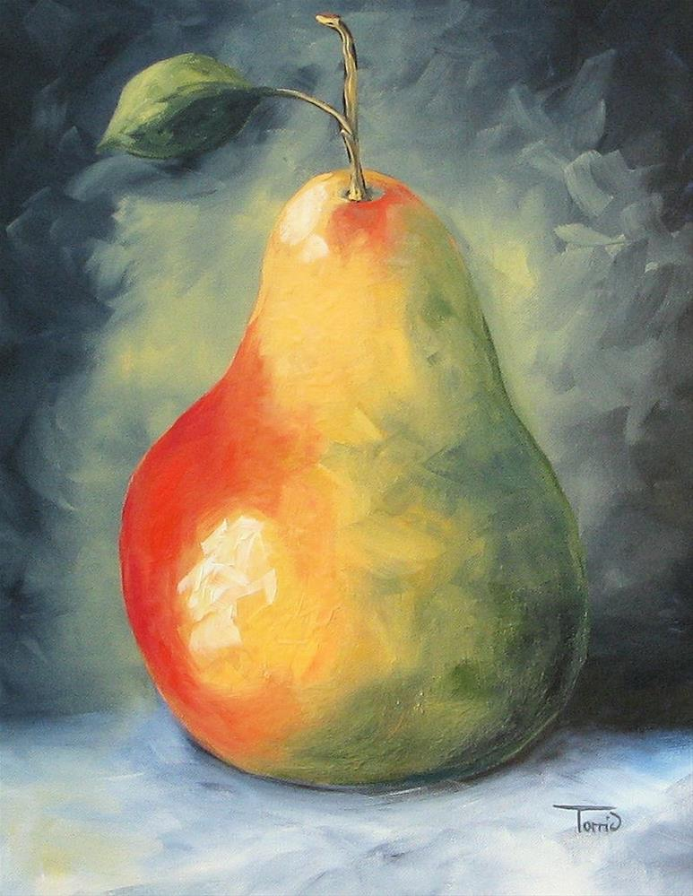 """""""My Favorite Pear"""" original fine art by Torrie Smiley"""