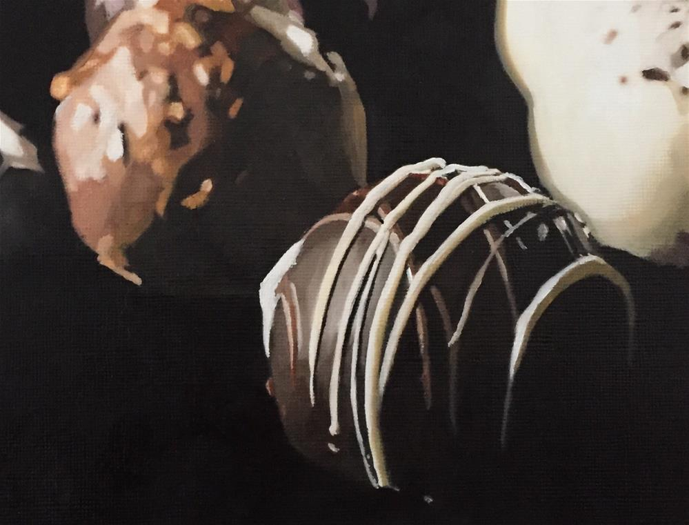"""Posh Chocs"" original fine art by John Cameron"