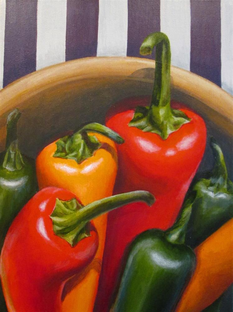 """Sharing"" original fine art by Debbie Shirley"