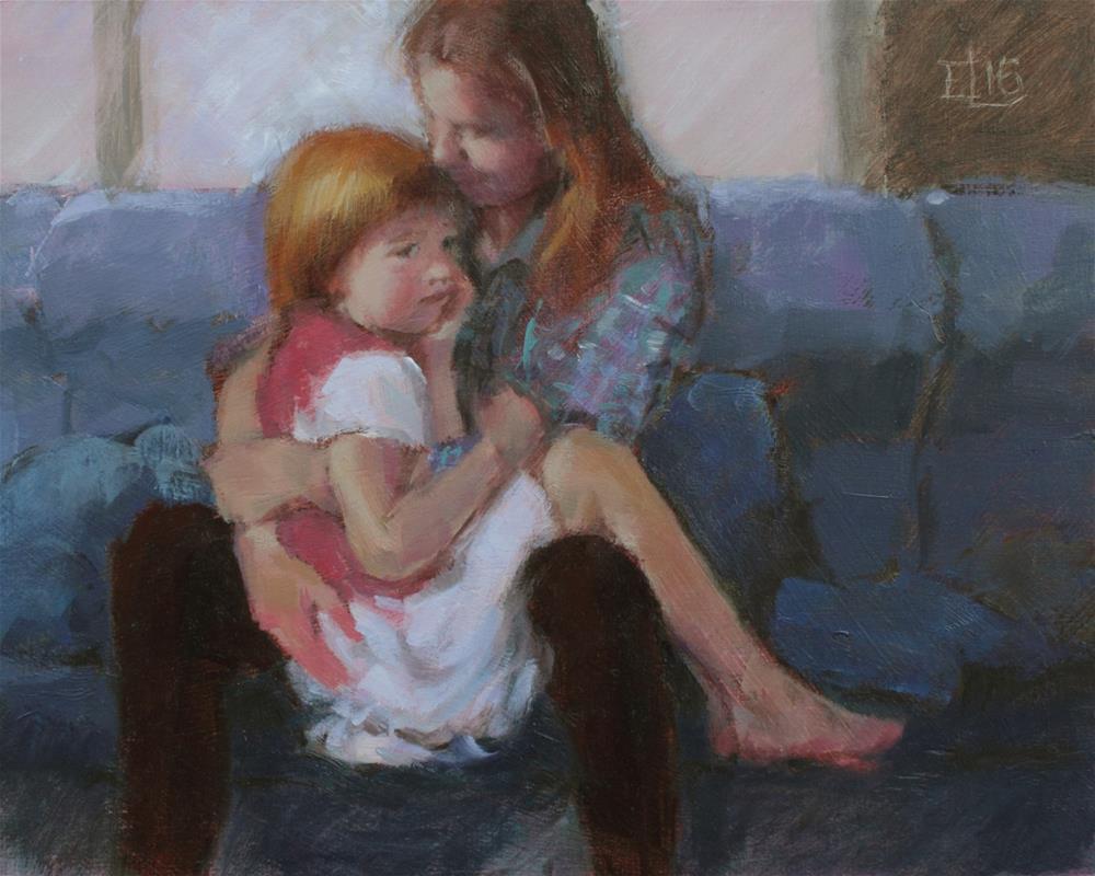 """""""Consolation"""" original fine art by Emilia Leinonen"""