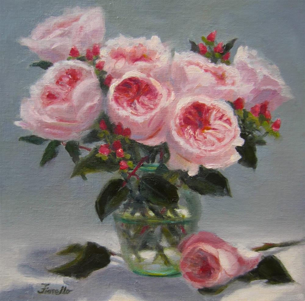 """""""Modern Romance"""" original fine art by Pat Fiorello"""