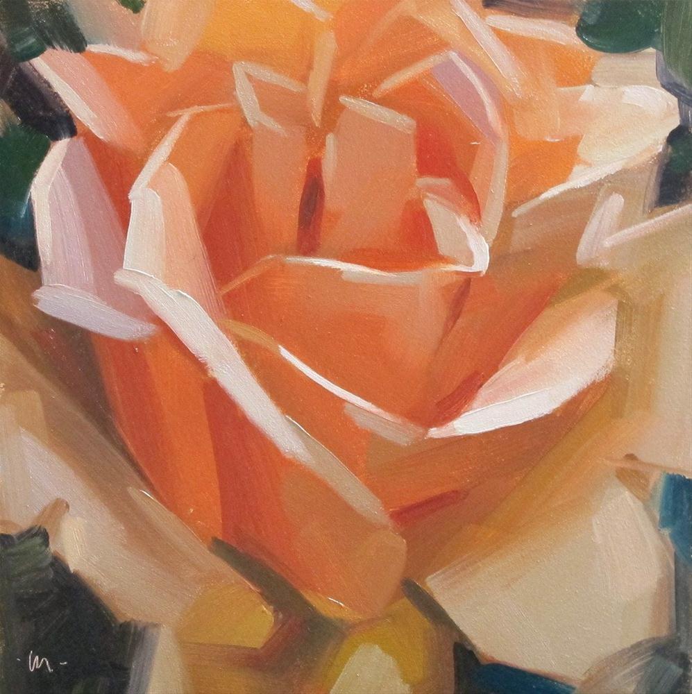 """Rosey and Posey"" original fine art by Carol Marine"