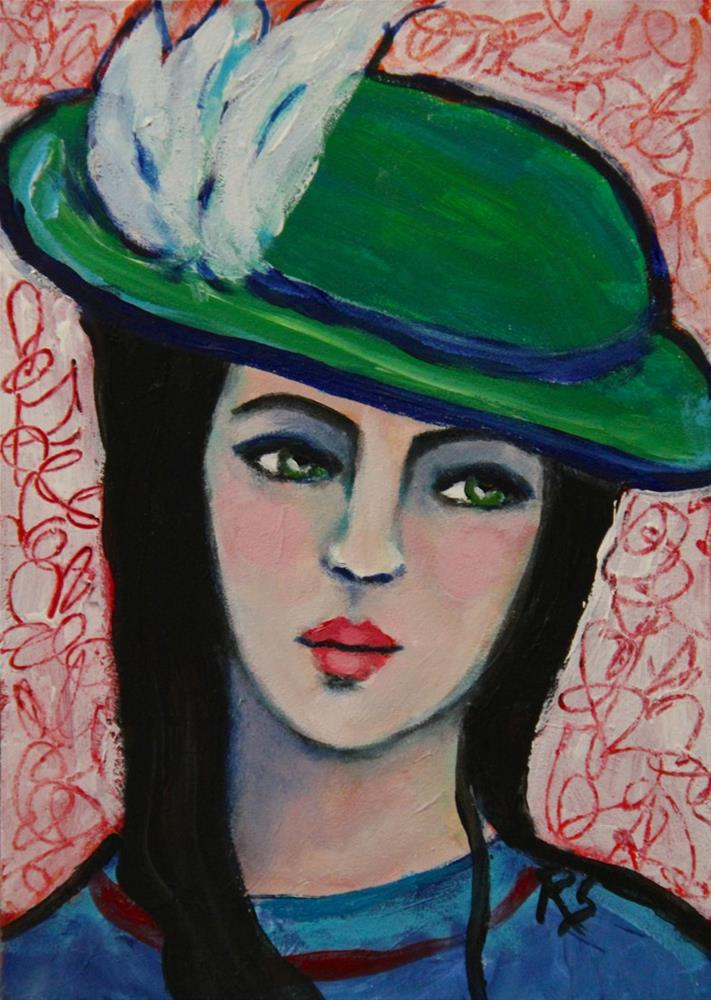 """Phillipa"" original fine art by Roberta Schmidt"