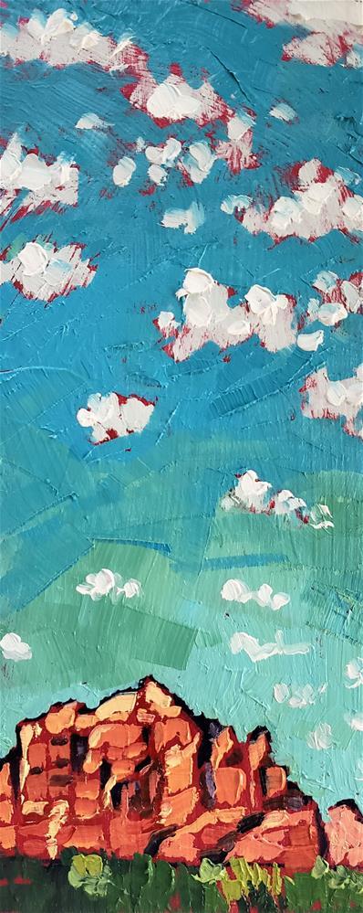 """Sunny Sedona"" original fine art by Bhavna Misra"