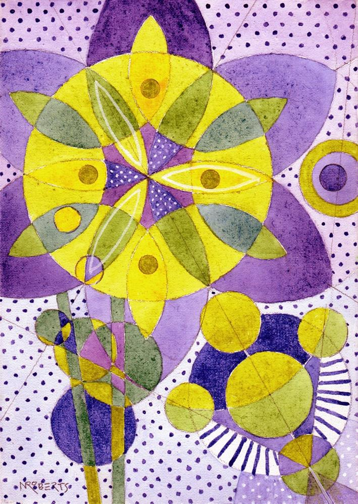 """Little Mandalas Two"" original fine art by Nancy Roberts"