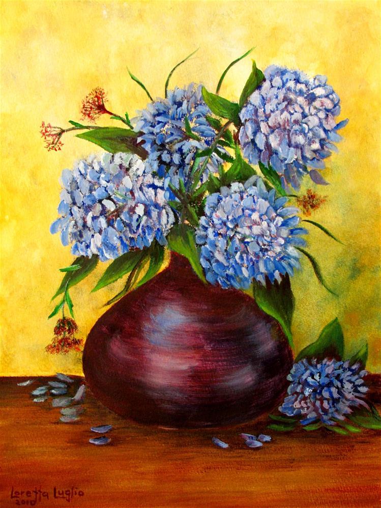 """Queens of Summer"" original fine art by Loretta Luglio"