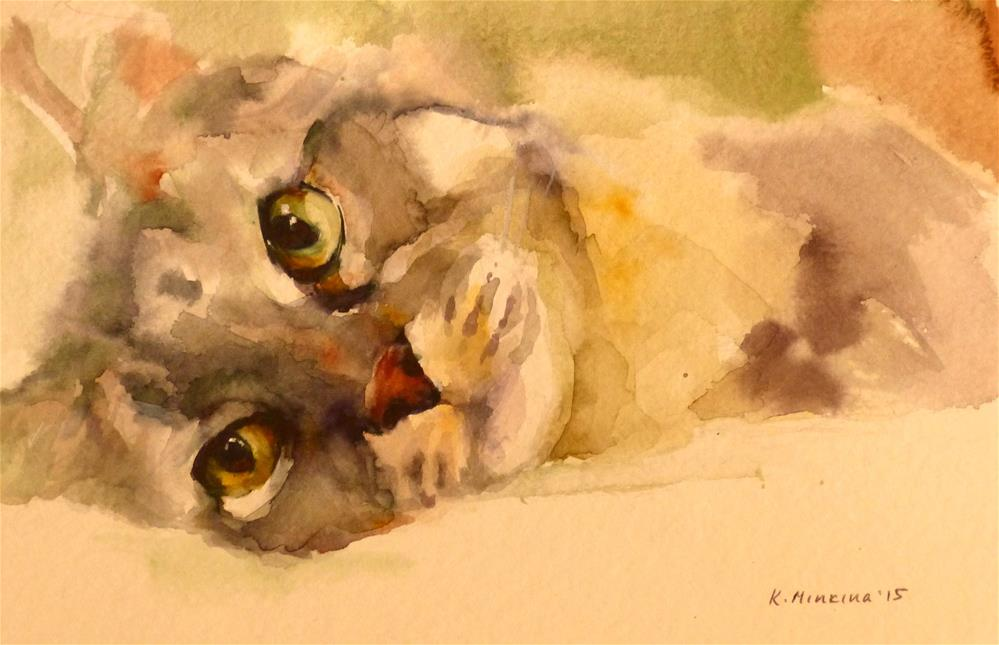 """adopt120"" original fine art by Katya Minkina"