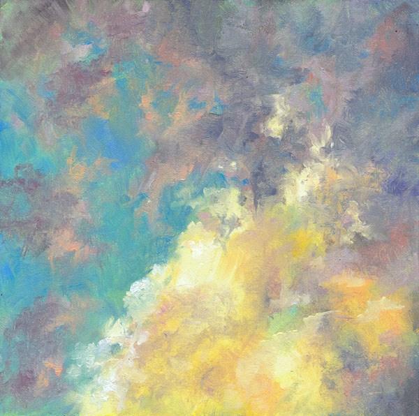 """Beyond"" original fine art by Brenda Ferguson"
