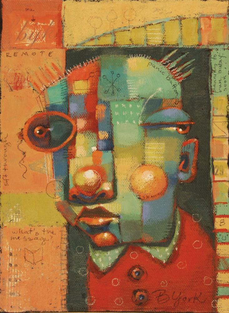 """Inferno"" original fine art by Brenda York"