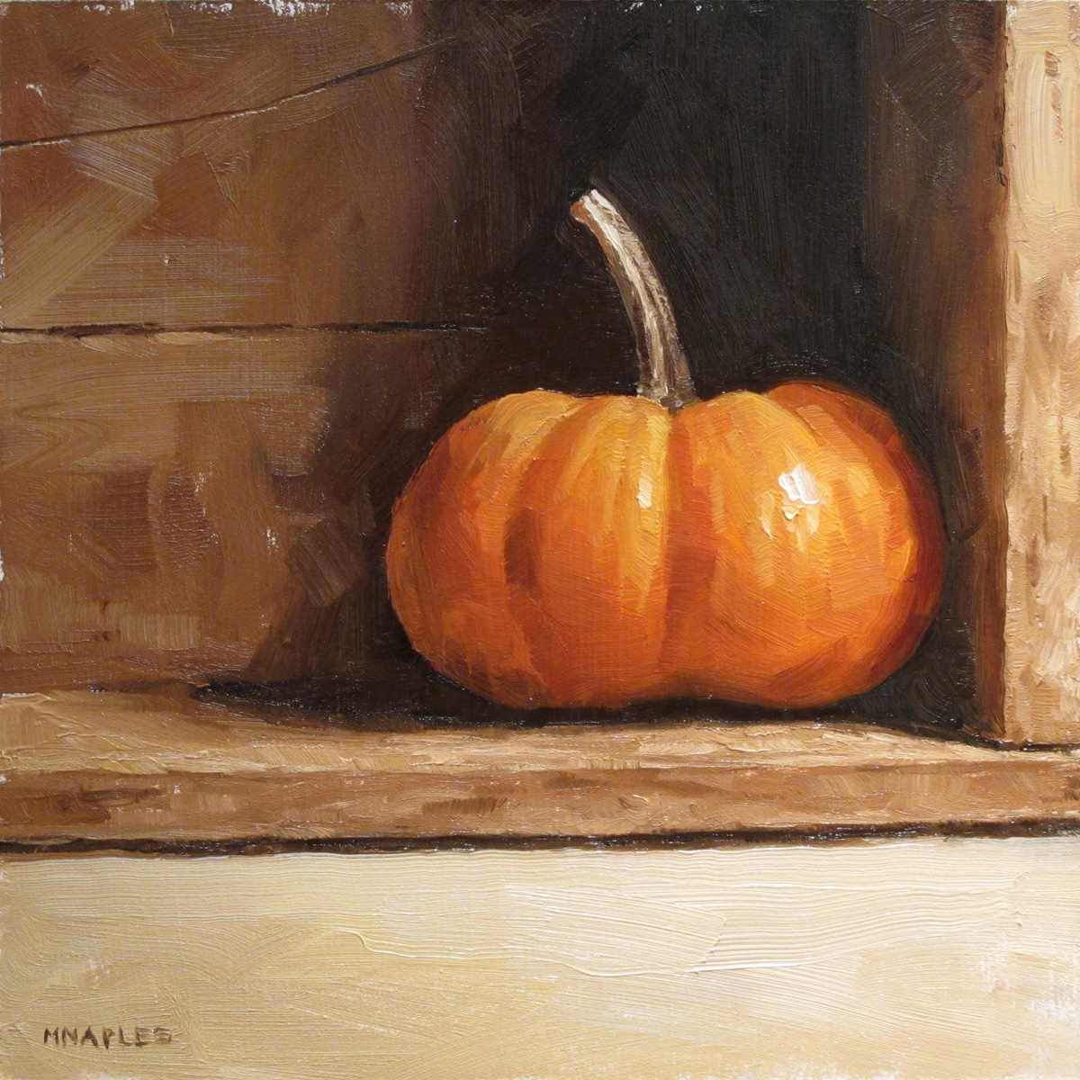 """Punkin"" original fine art by Michael Naples"