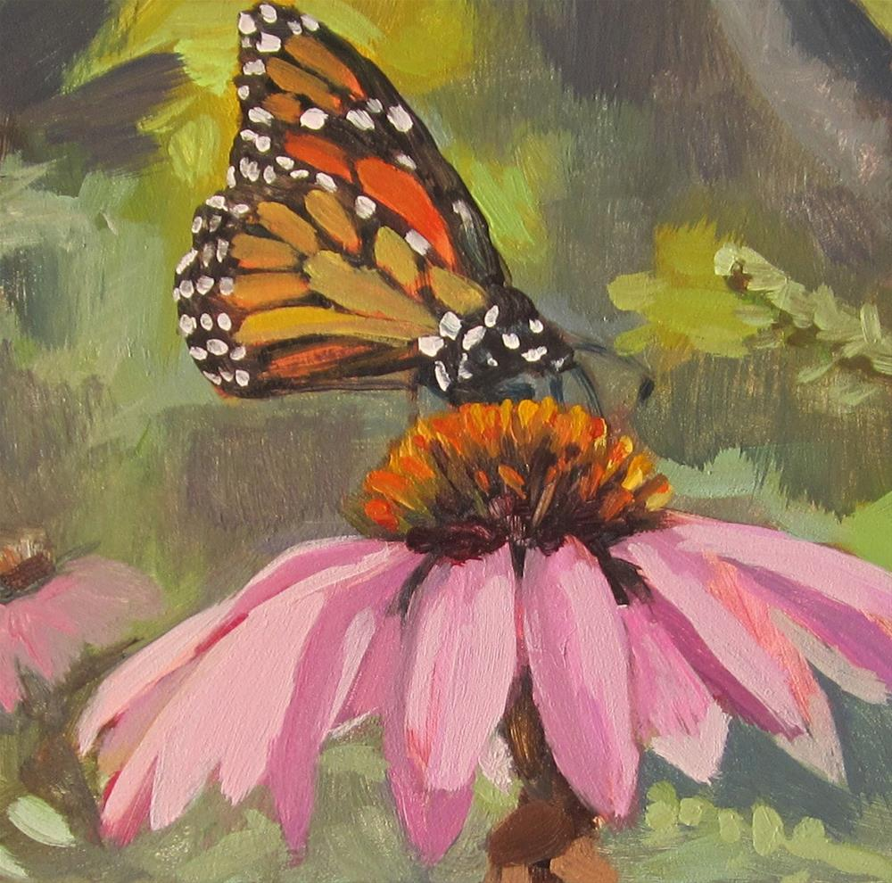 """Butterfly Work"" original fine art by Kaethe Bealer"